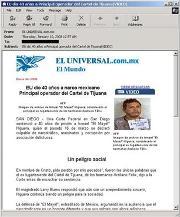 Amenaza dirigida a internautas mexicanos
